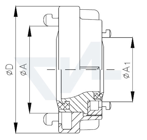 Переходник Storz-Storz тип 01.01.13