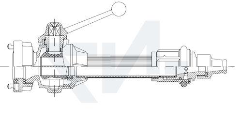 Универсальный пожарный ствол тип 01.01.22