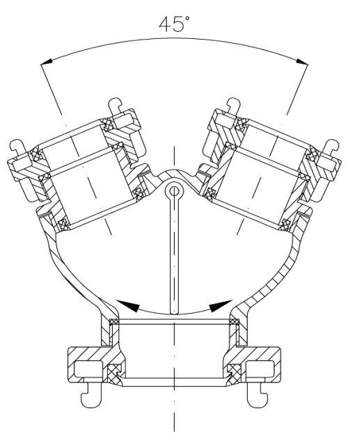 Водосборник рукавный с невозвратной захлопкой тип 04.02.03