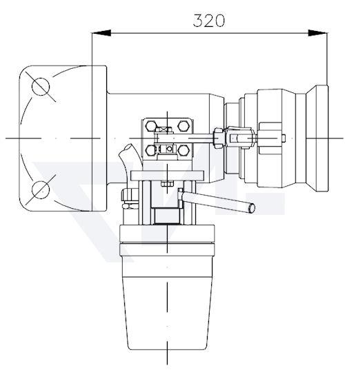 Распылители регулируемые многофункциональные тип 12.60.02