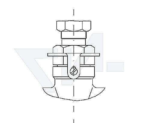 Клапаны с фиксацией верхней части