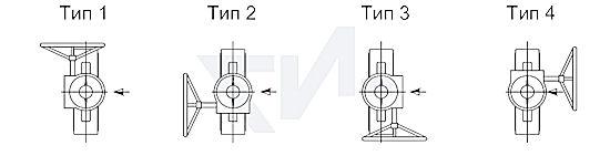 редуктор для дискового затвора ИНМОР