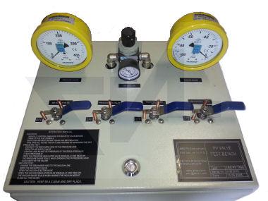 Испытательный стенд для настройки высокоскоростных клапанов